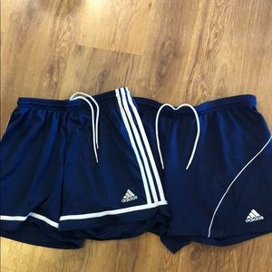 BUNDLE 2 pairs of adidas shorts!